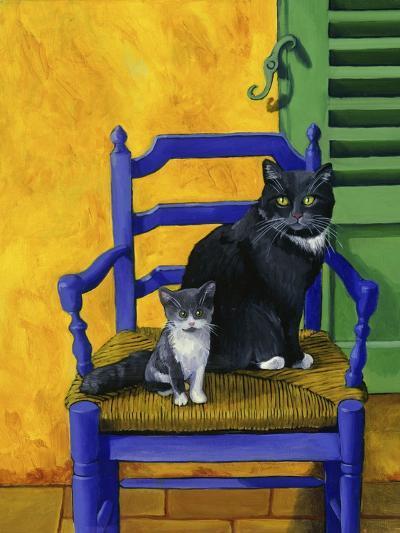 Cats of Provence (Chats de Provence)-Isy Ochoa-Giclee Print