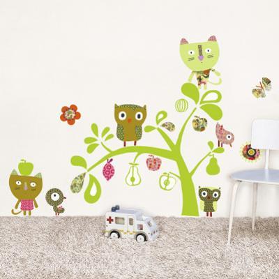 Cats, Owls, birds