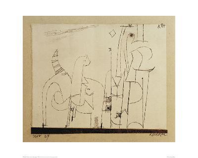 Cats-Paul Klee-Giclee Print