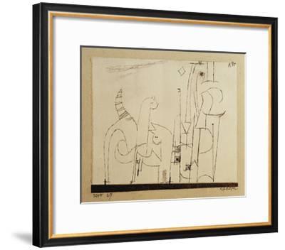 Cats-Paul Klee-Framed Giclee Print