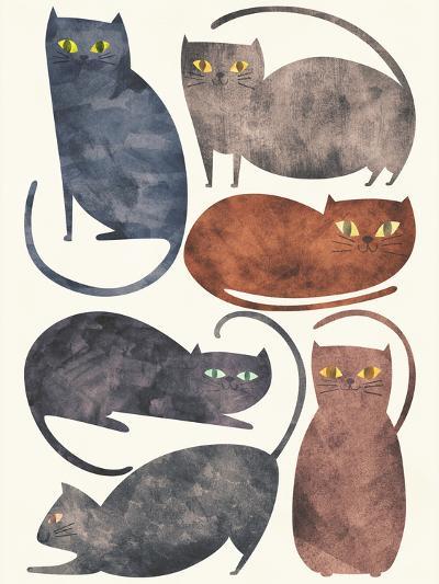 Cats-Tracie Andrews-Art Print