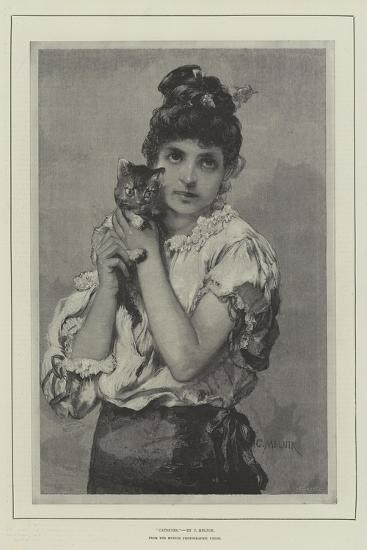 Catseyes--Giclee Print