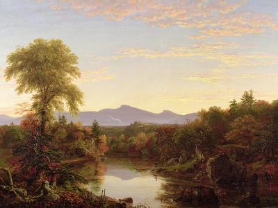 Catskill Creek, New York, 1845-Thomas Cole-Giclee Print