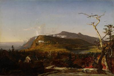 Catskill Mountain House, 1855-Jasper Francis Cropsey-Giclee Print
