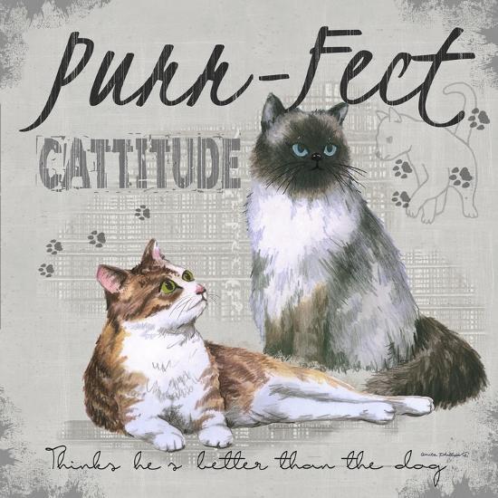 Cattitude-Anita Phillips-Art Print