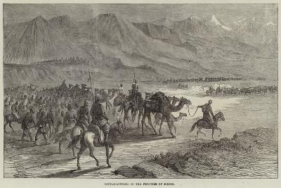 Cattle-Looting on the Frontier of Scinde-Joseph-Austin Benwell-Giclee Print