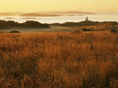Cattle Point Lighthouse, San Juan Island National Historical Park, Washington, USA-Charles Gurche-Photographic Print