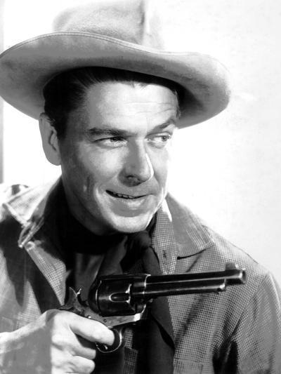 Cattle Queen of Montana, Ronald Reagan, 1954--Photo