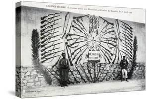 Catured Arms from the Battle of Menabha, Colomb-Béchar, Algeria, C1910