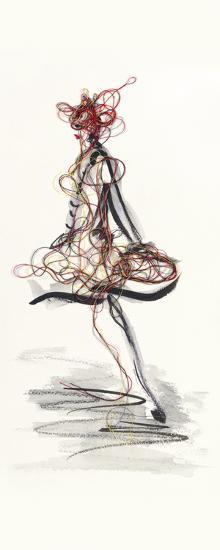 Catwalk Glamour II-Lou Lacroix-Art Print