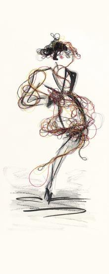 Catwalk Glamour III-Lou Lacroix-Art Print