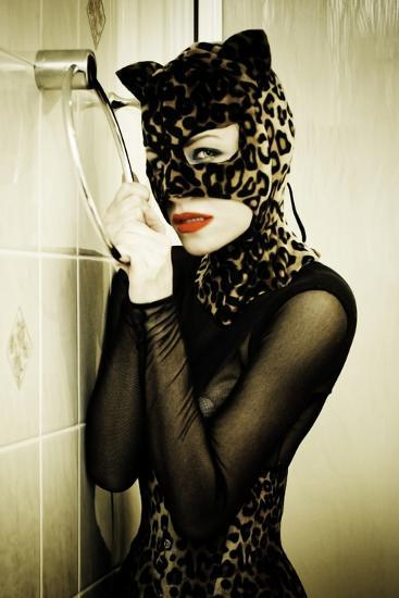 Catwoman 1-Svetlana Muradova-Photographic Print