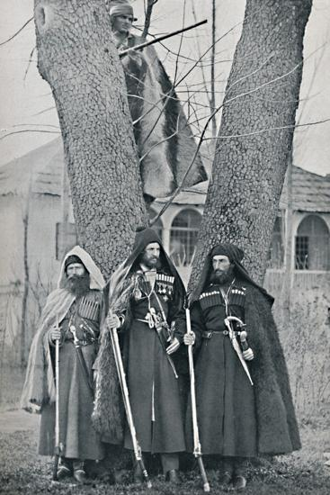 Caucasian soldiers, 1912-Unknown-Photographic Print
