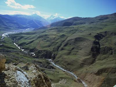 Caucus Mountains, Azerbaijan, Central Asia-Olivieri Oliviero-Photographic Print