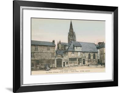 Caudebec-en-Caux, Normandy--Framed Art Print