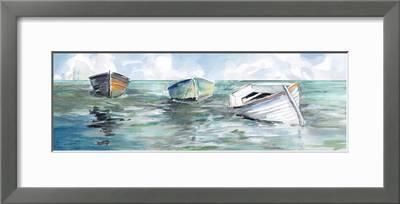 Details about  /Carol robinson caught at low toîle on beach picture frame sea boat maritime show original title
