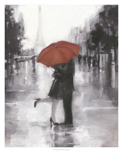 Caught in the Rain-Ethan Harper-Art Print