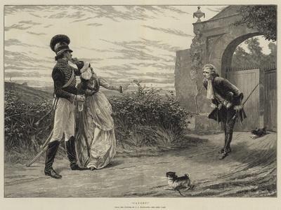 Caught!-Charles Joseph Staniland-Giclee Print