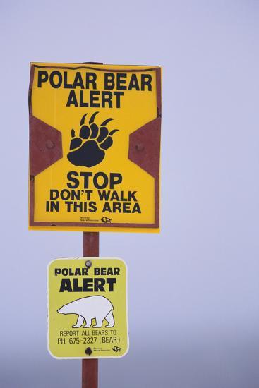 Cautionary Wildlife Sign-DLILLC-Photographic Print
