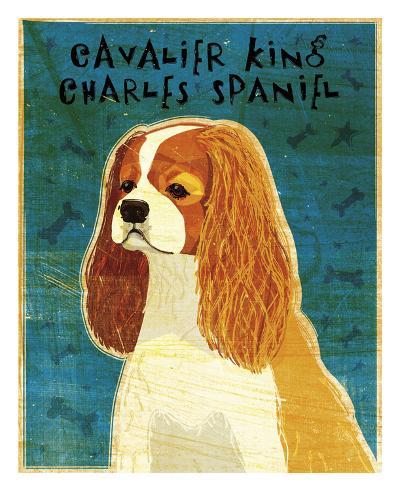 Cavalier King Charles (Blenheim)-John W^ Golden-Art Print