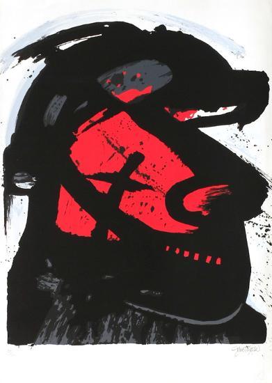 Cavalier rouge-John Christoforou-Limited Edition