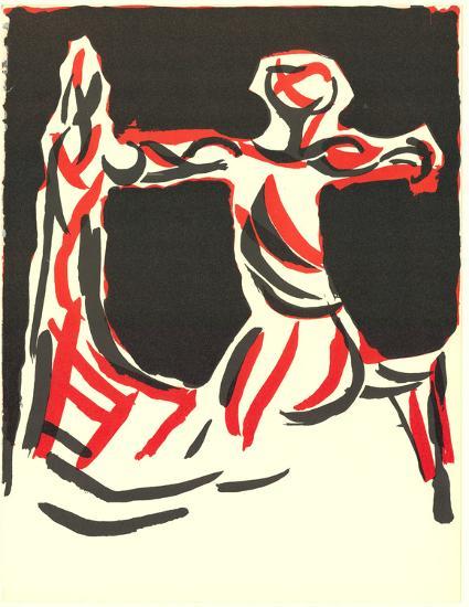 Cavalier-Marino Marini-Collectable Print
