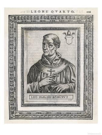 Pope Leo IV Pope and Saint