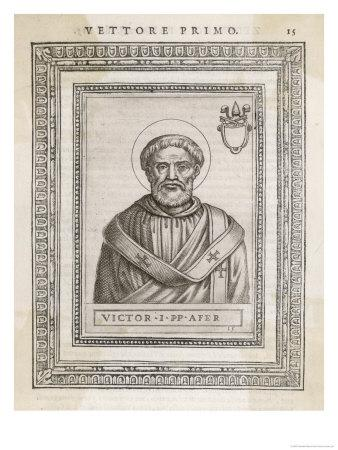 Pope Victor I Pope and Saint