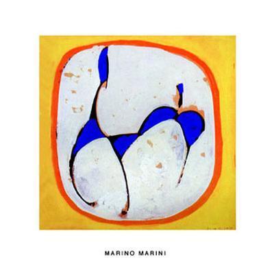 Cavallo-Marino Marini-Serigraph