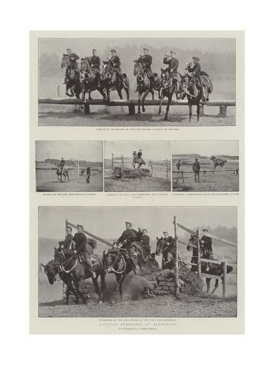 Cavalry Exercises at Aldershot--Giclee Print