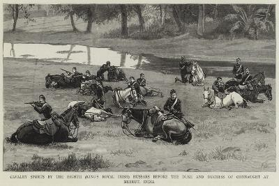 Cavalry Sports by the Eighth (King's Royal Irish) Hussars before the Duke and Duchess of Connaught--Giclee Print