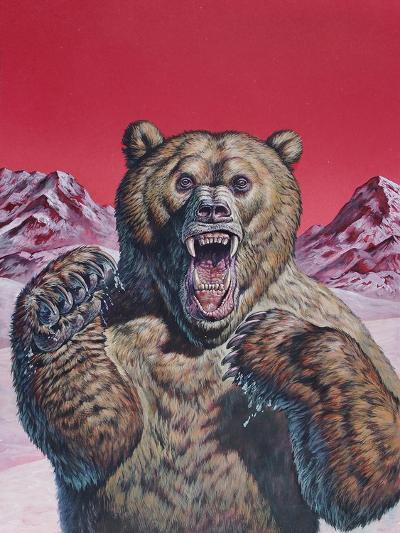 Cave Bear (Ursus Spelaeus), Pleistocene Epoch--Art Print