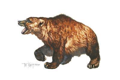 Cave Bear-Tim Knepp-Giclee Print