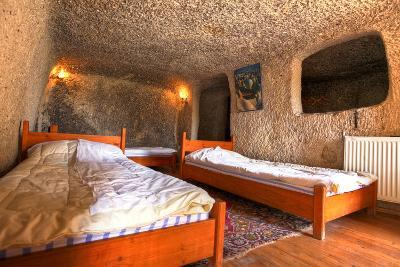 Cave Hotel Room-EvanTravels-Photographic Print