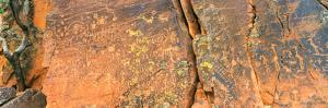 Cave Painting, V-Bar-V Heritage Site, Coconino National Forest, Verde Valley, Arizona, Usa