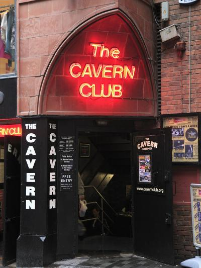 Cavern Club, Mathew Street, Liverpool, Merseyside, England, United Kingdom, Europe-Wendy Connett-Photographic Print