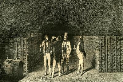 Caves France 19th Century--Giclee Print