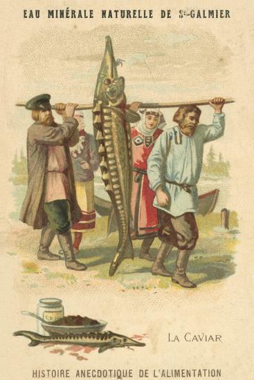 Caviar--Giclee Print