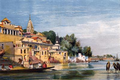 Cawnpore on the Ganges, India, 1857-William Carpenter-Giclee Print