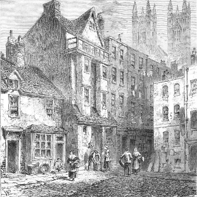 Caxtons House, Westminster, 1827--Giclee Print