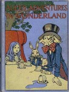 The Mad Hatter's Tea Party is Featured on the Cover of the 1916 Edition Published by Cassell by Cayley Robinson