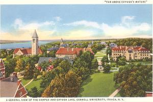 Cayuga Lake, Cornell University, Ithaca, New York