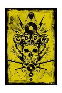 CBGB & OMFUG - Icons Cluster (Yellow)