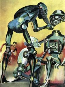 Robot Science-fiction Artwork by CCI Archives