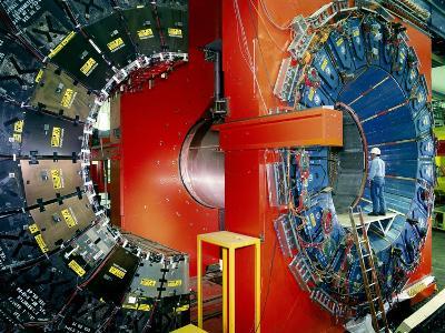 CDF Particle Detector, Fermilab-David Parker-Photographic Print