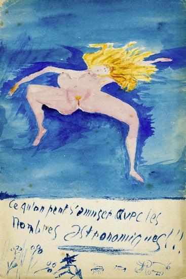 Ce Qu'On S'Amuser Aved Les Nombres Astronomiques!!, C1914-Guillaume Apollinaire-Giclee Print
