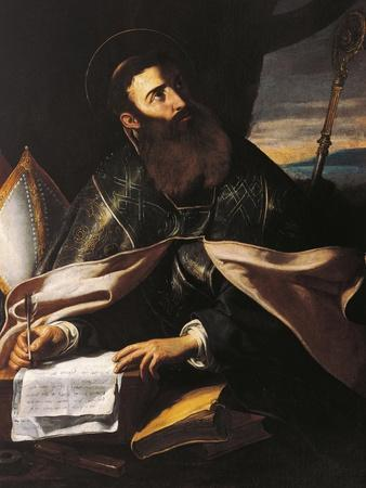 Portrait of St. Augustine of Hippo