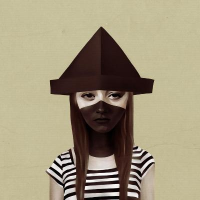 Ceci N'Est Pas Un Chapeau-Ruben Ireland-Art Print