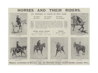 Advertisement, Horses and their Riders