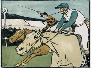 Old English Sports and Games: Racing, 1901 by Cecil Aldin